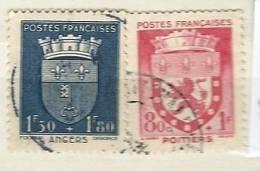 France 1942 YT N° 555 - FRANCE - ARMOIRIES 1942  YT  558 - France