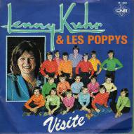 "* 7"" *  LENNY KUHR & LES POPPYS - VISITE (Holland 1980) - Vinyl-Schallplatten"