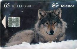 NORWAY - 1998 - N113 - WOLF - 65 UNITS - MINT - Norway