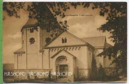 Gruftkapelle Friedrichsruh, Um 1920/1930  Verlag: J. Schlottfeldt, Bergedorf  POSTKARTE ,  Unbenutzte Karte - Friedrichsruh