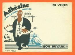 "Buvard  ""  Adhesine - Colle Blanche Parfumée  "" - Papeterie"