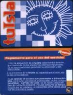 2007 - TUISLA PREPAID EMAIL AXCESS CARD - Cuba