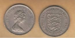 JERSEY -   10 New Pence  1968  KM33 - Jersey