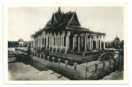 Indochine Cambodge Pavillon Cambodgien Les Arts Coloniaux. (+300 CPA Sur L'Indochine En Cours) - Cambodge