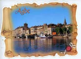 Agde Cité Phocéenne - Forme  -APA-POUXparchemin - Agde