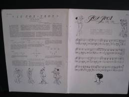 Partition Fox Trot Extrait De Phi Phi - Illustration SEM - Revue Fémina. - Bücher, Zeitschriften, Comics