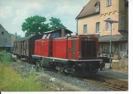TRAIN - LOCOMOTIVE 211 143-3 KHD 1963 - Eisenbahnen