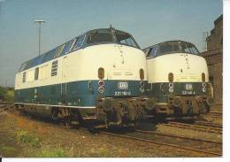 TRAIN - LOCOMOTIVE 221 110-0 - Eisenbahnen