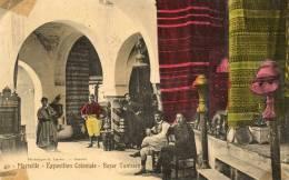 *  CPA  MARSEILLE . BAZAR  TUNISIEN - Expositions Coloniales 1906 - 1922