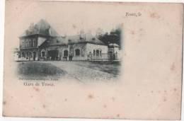 BELGIQUE - TROOZ - La Gare (carte Vendue En L'état) - Trooz