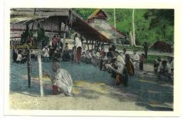 Indochine Laos Xieng-Khouang Boun-Hot-Nam  Fête Des Eaux. (+300 CPA Sur L'Indochine En Cours) - Laos
