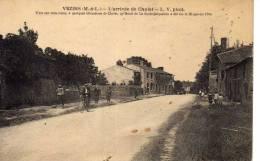 Vezins L Arrivée De Cholet Très Animée Là Ou Fut Tué Henri De La Rochejacquelin Le 28/01/1794 Vélo Enfants.. - France