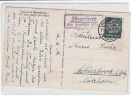 """Landpost """"Fliegerhorst über Frankfurt (Oder)"""" 17.9.33 - Germania"""