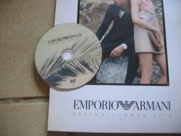 CATALOGUE 50 P. PRINTEMPS / ETE 2013 EMPORIO ARMANI Avec DVD DEFILE DE MODE - Catalogus
