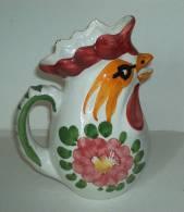 Pichet Au Coq° - Rooster Pitcher - Haan Kan - Hahn  (PR168) - Céramiques