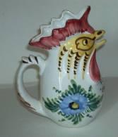 Pichet Au Coq° - Rooster Pitcher - Haan Kan - Hahn  (PR170) - Céramiques