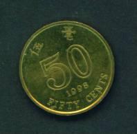 HONG KONG - 1998 50c Circ - Hong Kong