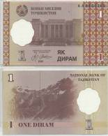 TAJIKISTAN 1999 1 DIRAM P10 UNC -G - Tadzjikistan