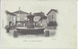 VOSGES  -     BAINS   -        LA  GRANDE  FONTAINE  -   TB  - - Bains Les Bains