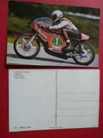 12 Moto Pilote Walter VILLA Harley Davidson  Courses  Route NON Circulee  Editee 1976 Motos Course Competition - Motorfietsen
