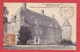 BRETIGNOLLES  (Vendée)  Vue  Sur  Le  Chateau  De  BEAUMARCHAIS   Coté  Est - Bretignolles Sur Mer