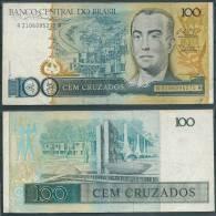 BRAZIL 1987 100 CRUZADOS P211 -G - Brazil