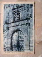 Espana   Soria -  Entrada De La  Colegiata San Pedro  D101823 - Soria