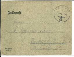 Lettre   Allemagne  MILITARIA  1943 391 Rgt,  170 Division Infanterie  18° Armee Leningrad  (174) - Deutschland