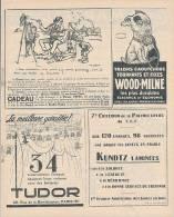 Ancienne Publicité (1925) : Dentifrice DENTOL, Dessin De Francisque POULBOT, Jantes Vélos KUNDZ, Batteries TUDOR... - Advertising