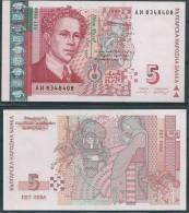 BULGARIA 1999 5 LEVA P116 UNC -G - Brunei