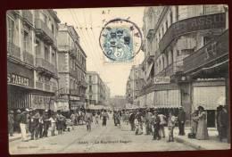 Cpa  D'  Algérie  Oran  Le Boulevard Seguin        2LIO6 - Oran