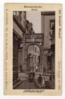 Chromo Au Grand Mogul, Dinan, Porte Du Couvent - Chromos