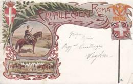"MILITARI SOLDATI CAVALLEGGERI ROMA ALPINI ESERCITO BERSAGLIERI FANTERIA ""-VG 1907.- AUTENTICA - Manovre"