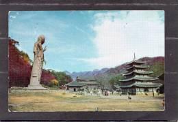 37301   Corea  Del  Nord,  The  Largest  Buddha  In  The  Republic  Of  Korea, VGSB  1965 - Corea Del Nord