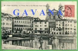 20 BASTIA - Le Vieux Port Et La Paroisse Saint-Jean - Bastia