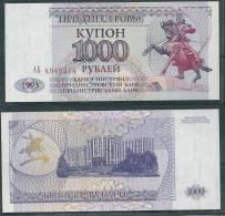 TRANSNISTRIA 1993 1000 RUBLEI P23 UNC -G - Bankbiljetten