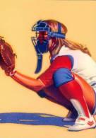 U.S.A. :1996: Not-trav. Postal Stationery : OLYMPICS,SOFTBALL,BASEBALL,HONKBAL, - Base-Ball