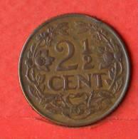 CURACAO  2 1/2  CENTS  1947   KM# 42  -    (1641) - Curacao