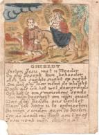 SANTINO - HOLY CARD - Canivet Du 17e 18e- GHEBEDT  - 72X97 Mm - AUX ENCHERES - Images Religieuses
