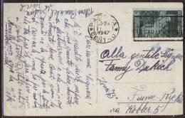 ITALIA - PADOVA To FIUME In ZONE  B - Tariff 3 Lit  - 1947 - Storia Postale