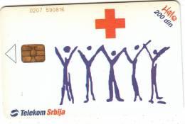 SERBIA - Serbian Red Cross, 05/04, Used - Joegoslavië