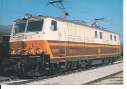 TRAIN - LOCOMOTIVE Série 250 - Janvier 1987 - Eisenbahnen