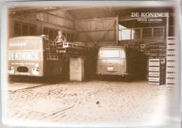 Brouwerij-Brasserie De Koninck-De Smaak Van Antwerpen-Metalen Promotiekaart(10*14,5cm): Laden & Lossen - Advertising (Porcelain) Signs