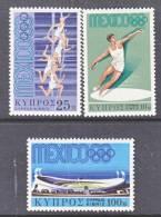 Cyprus 319-21    **    OLYMPICS - Cyprus (Republic)