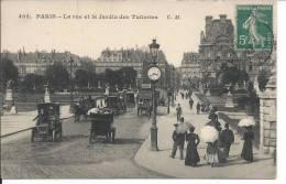 PARIS: La Rue Et Le Jardin Des Tuileries - Ohne Zuordnung