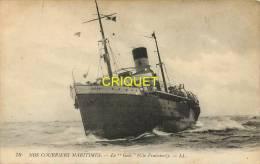 Bateaux, Le Golo,  Carte Pas Courantecourant - Dampfer