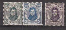 PGL BL0651 - IRLANDE IRELAND Yv N°55/57 ** - 1922-37 Stato Libero D'Irlanda