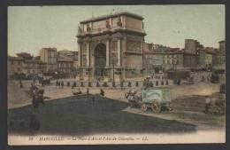 DF / 13 BOUCHES-DU-RHÔNE / MARSEILLE / LA PLACE D' AIX ET L' ARC DE TRIOMPHE - Marsiglia