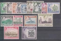 GRANDE BRETAGNE/ RHODESIA NYASALAND - N°19/32** - Rhodesien & Nyasaland (1954-1963)