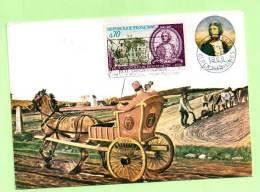 CARTE, N° YVERT 1610 --NAPOLEON BONAPARTE -  GRASSE - Cartes-Maximum